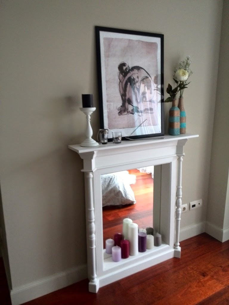De espejo a chimenea la fabriquilla for Espejos decorativos para chimeneas