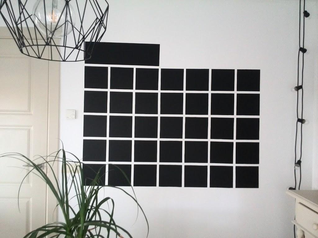 Calendario de pizarra para la pared la fabriquilla - Pizarra calendario ...